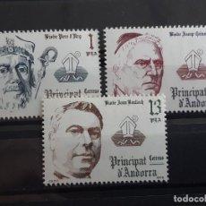 Selos: ANDORRA , EDIFIL 130-132 ** , 1979. Lote 203854191