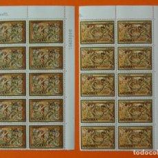 Sellos: ANDORRA, EDIFIL 94/95, NAVIDAD, COMPLETA, 1974, 2 BLOQUES DE 10 SELLOS, NUEVOS... L1007. Lote 204199060