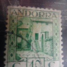 Sellos: ANDORRA ESPAÑOLA 10 C IVERT 30A VERDE , VER FOTOS. Lote 205044386
