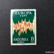 Sellos: ANDORRA ESPAÑOLA AÑO 1972 EDIFIL 72** MNH. Lote 205453598