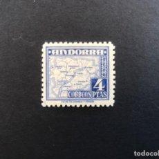 Sellos: ANDORRA ESPAÑOLA AÑO 1948 EDIFIL 56** MNH. Lote 205526146