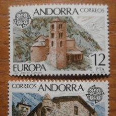 Sellos: SELLO - ANDORRA CORREO ESPAÑOL - EDIFIL 117, 118 - 5 Y 12 PTA - 1978 - SERIE EUROPA - NUEVOS. Lote 245227100