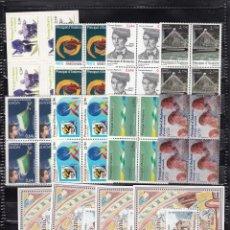 Sellos: ANDORRA ESPAÑOLA 2010 AÑO COMPLETO BLOQUES DE 4 VALOR FACIAL 40,72E.. Lote 213081110