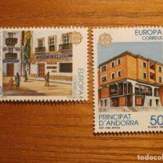 Sellos: ANDORRA CORREO ESPAÑOL - EDIFIL 218 Y 219 - 20 Y 50 PTA 1990 - EUROPA - NUEVOS - SERIE. Lote 213764125