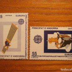 Sellos: ANDORRA CORREO ESPAÑOL - EDIFIL 225, 226 - 25 Y 55 PTA 1991 - OLYMPUS I - NUEVOS - SERIE. Lote 213764181