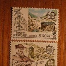 Sellos: ANDORRA CORREO ESPAÑOL - EDIFIL 168 Y 169 - 16 Y 38 PTA 1983 - SERIE EUROPA - NUEVOS. Lote 213764217