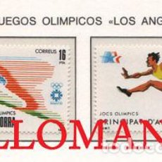 "Sellos: ""1984 JUEGOS OLIMPICOS SARAJEVO SKI ATHLETE ESQUI 176 / 77 ** MNH ANDORRA TC21894"". Lote 214437901"