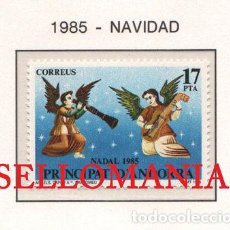 "Sellos: ""1985 NAVIDAD CHRISTMAS CAPILLA SAN BARTOLOME CHURCH 189 ** MNH ANDORRA TC21905"". Lote 214437926"