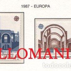 "Sellos: ""1987 EUROPA EUROPE SANTUARIO MERITXELL SANCTUARY 196 / 97 ** MNH ANDORRA TC21910"". Lote 214437927"