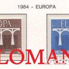 "Sellos: ""1984 EUROPA EUROPE CEPT PUENTES BRIDGES 179 / 80 ** MNH ANDORRA TC21897"". Lote 214437931"