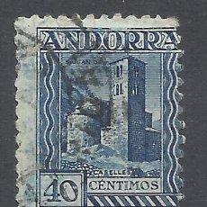 Francobolli: ANDORRA 1931 EDIFIL 22 D USADO VALOR 2018 CATALOGO 12.50 EUROS. Lote 215235102