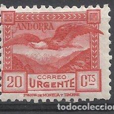 Francobolli: ANDORRA 1935 EDIFIL 44 NUEVO* VALOR 2018 CATALOGO 9.- EUROS. Lote 215237703