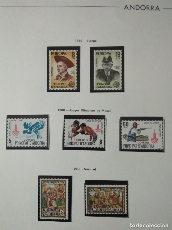SELLOS DE ANDORRA NUEVOS AÑOS 1980 A 2004 Y 2006. TODOS LOS QUE SE MUESTRAN EN LAS FOTOS. VER FOTOS (Sellos - España - Dependencias Postales - Andorra Española)