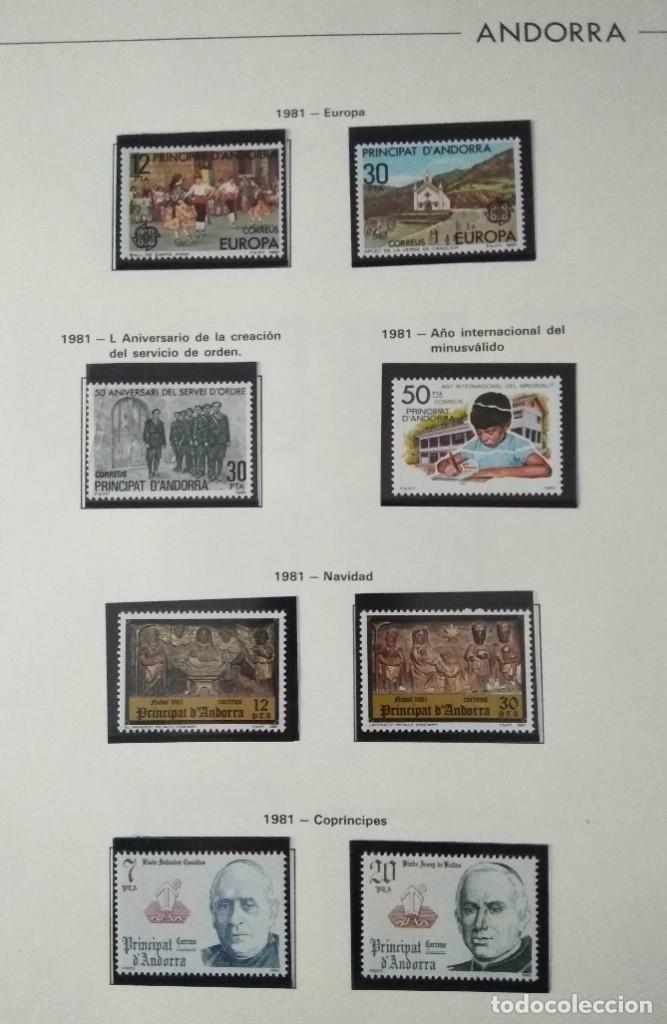 Sellos: Sellos de Andorra nuevos Años 1980 a 2004 y 2006. Todos los que se muestran en las fotos. Ver fotos - Foto 2 - 216998168