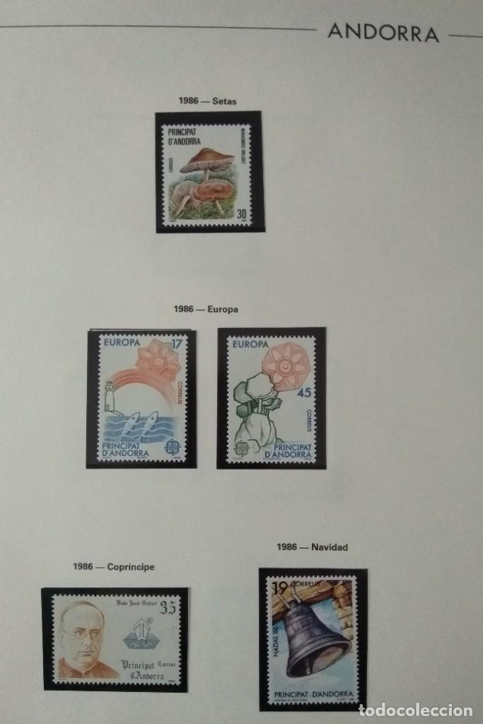 Sellos: Sellos de Andorra nuevos Años 1980 a 2004 y 2006. Todos los que se muestran en las fotos. Ver fotos - Foto 10 - 216998168