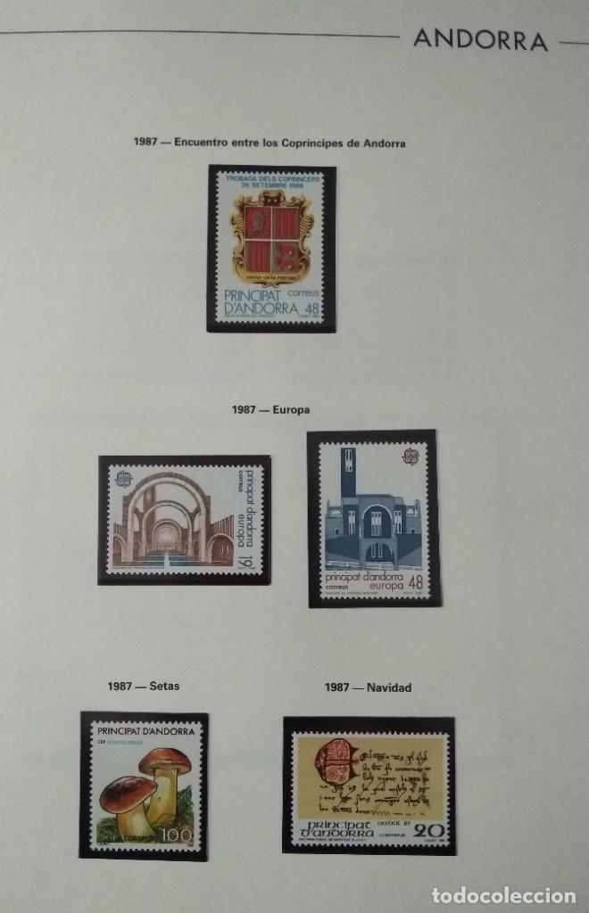 Sellos: Sellos de Andorra nuevos Años 1980 a 2004 y 2006. Todos los que se muestran en las fotos. Ver fotos - Foto 11 - 216998168