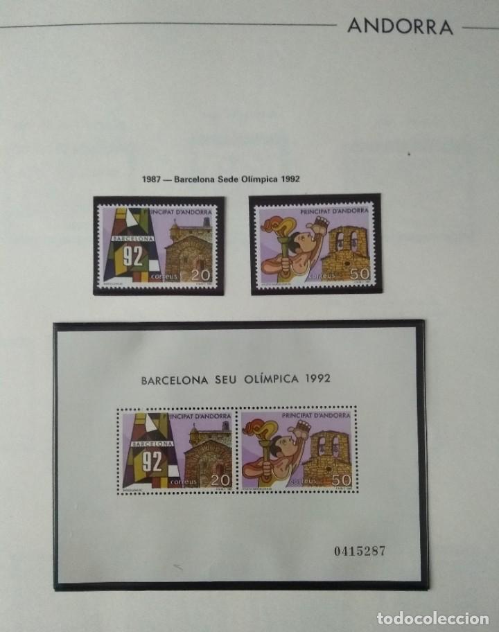 Sellos: Sellos de Andorra nuevos Años 1980 a 2004 y 2006. Todos los que se muestran en las fotos. Ver fotos - Foto 12 - 216998168