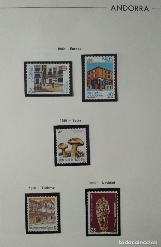 Sellos: Sellos de Andorra nuevos Años 1980 a 2004 y 2006. Todos los que se muestran en las fotos. Ver fotos - Foto 15 - 216998168