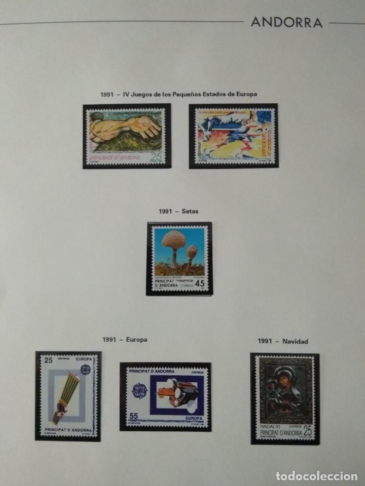 Sellos: Sellos de Andorra nuevos Años 1980 a 2004 y 2006. Todos los que se muestran en las fotos. Ver fotos - Foto 16 - 216998168