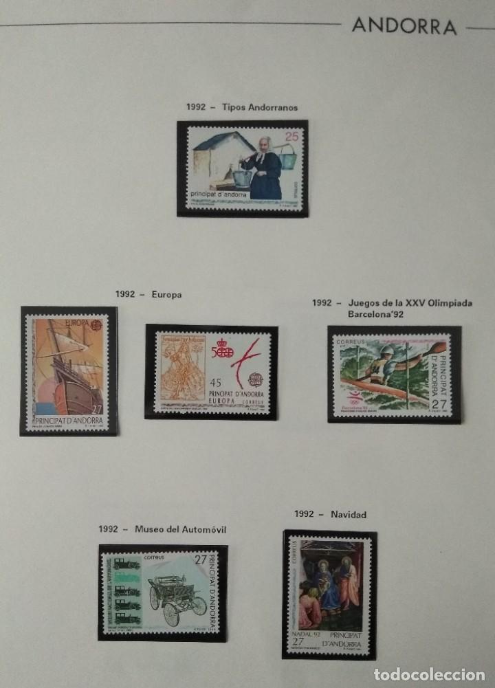 Sellos: Sellos de Andorra nuevos Años 1980 a 2004 y 2006. Todos los que se muestran en las fotos. Ver fotos - Foto 17 - 216998168