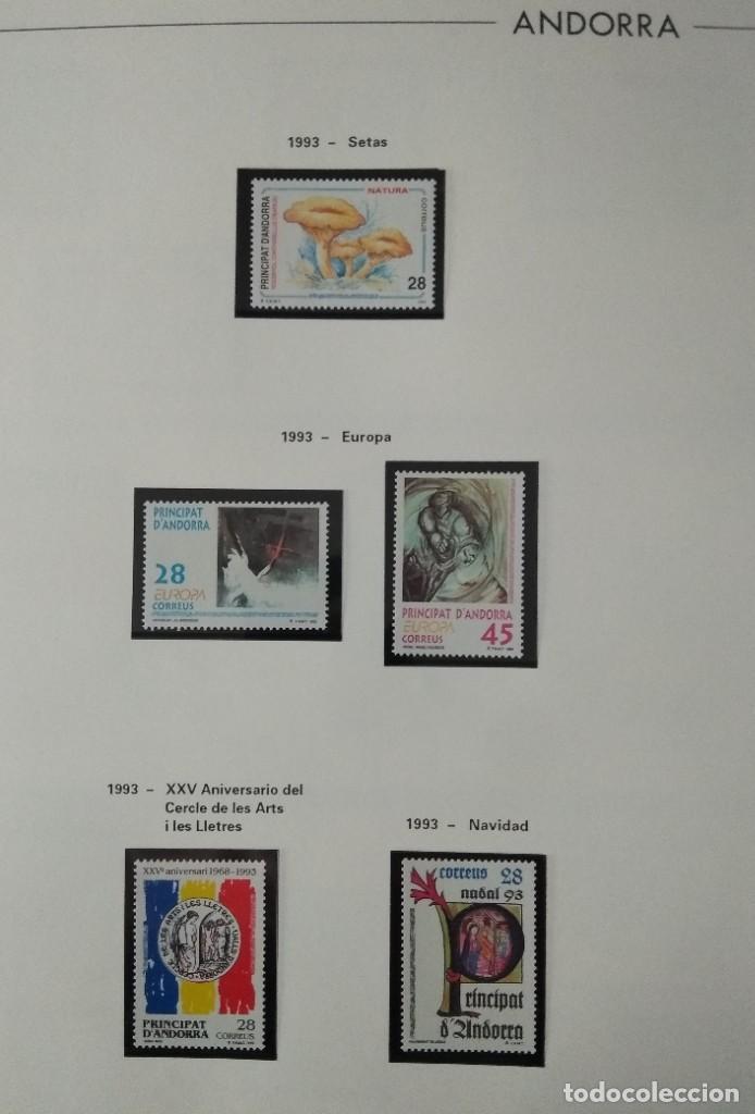 Sellos: Sellos de Andorra nuevos Años 1980 a 2004 y 2006. Todos los que se muestran en las fotos. Ver fotos - Foto 18 - 216998168