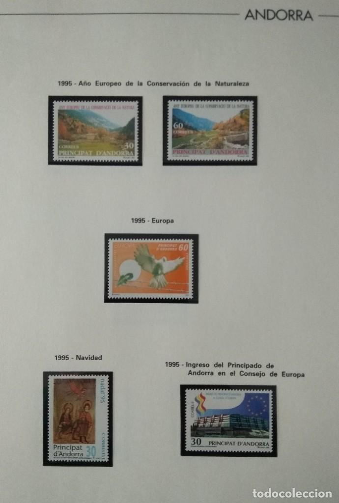 Sellos: Sellos de Andorra nuevos Años 1980 a 2004 y 2006. Todos los que se muestran en las fotos. Ver fotos - Foto 20 - 216998168