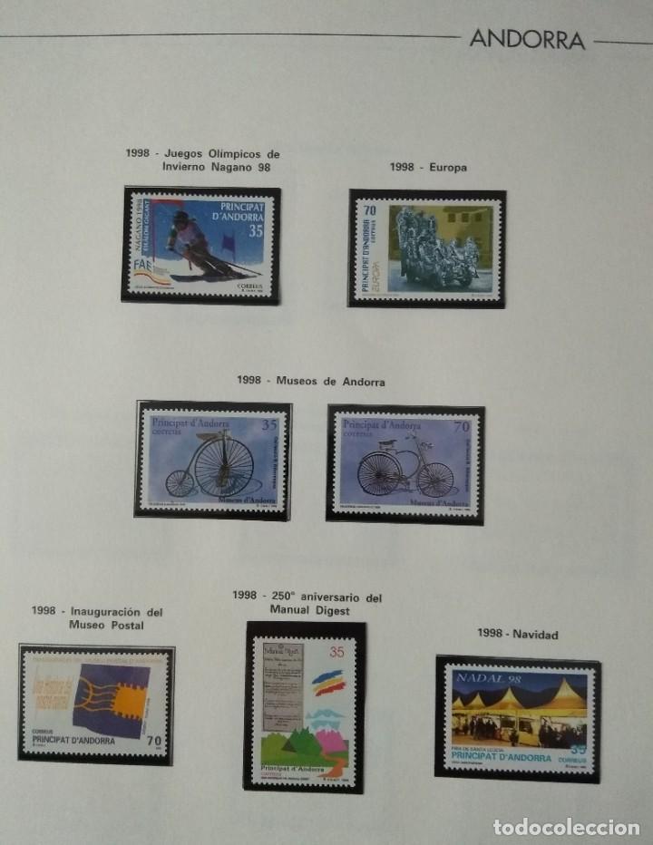 Sellos: Sellos de Andorra nuevos Años 1980 a 2004 y 2006. Todos los que se muestran en las fotos. Ver fotos - Foto 23 - 216998168