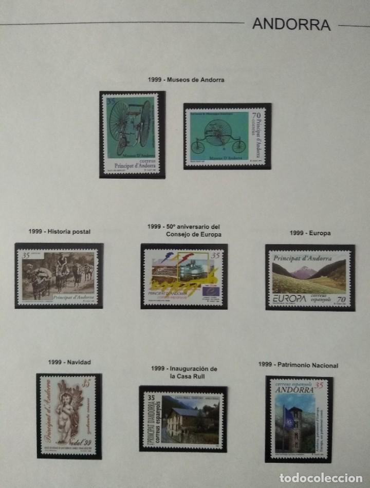 Sellos: Sellos de Andorra nuevos Años 1980 a 2004 y 2006. Todos los que se muestran en las fotos. Ver fotos - Foto 24 - 216998168