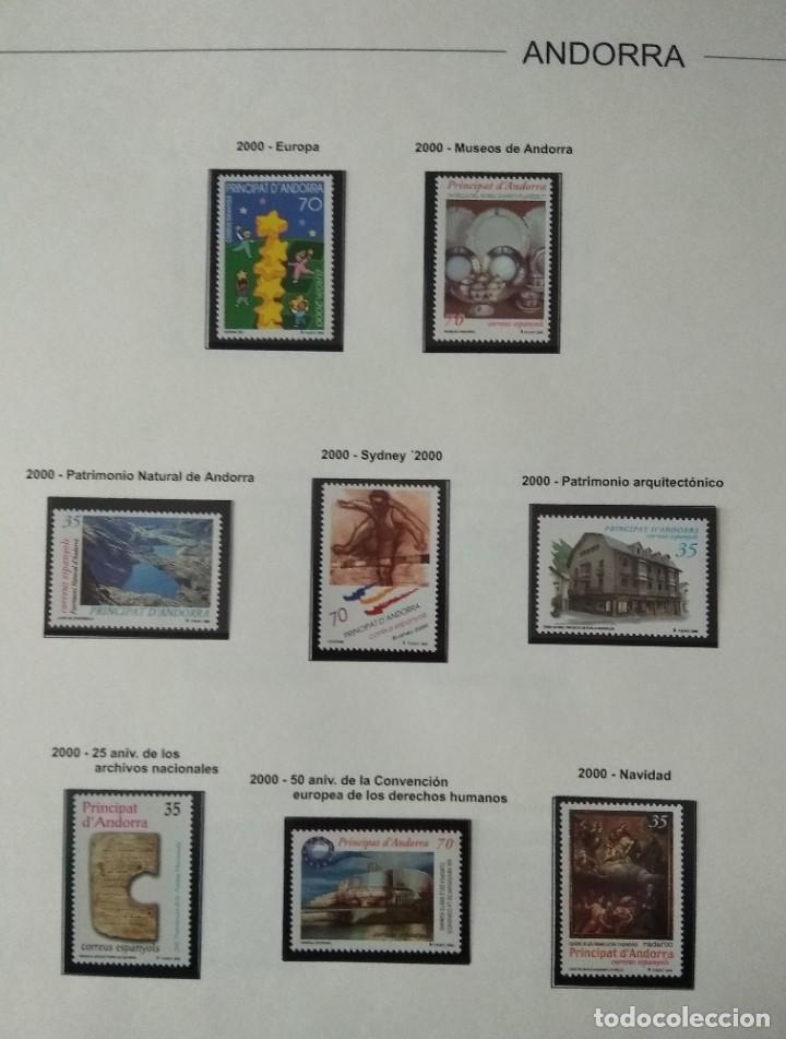 Sellos: Sellos de Andorra nuevos Años 1980 a 2004 y 2006. Todos los que se muestran en las fotos. Ver fotos - Foto 25 - 216998168