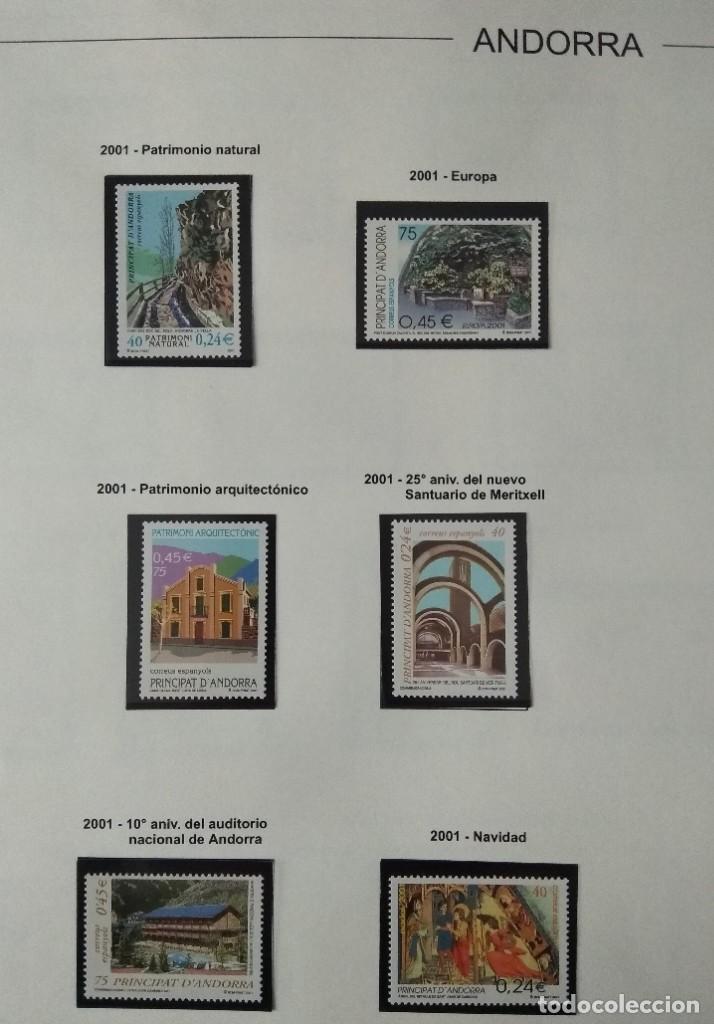 Sellos: Sellos de Andorra nuevos Años 1980 a 2004 y 2006. Todos los que se muestran en las fotos. Ver fotos - Foto 26 - 216998168