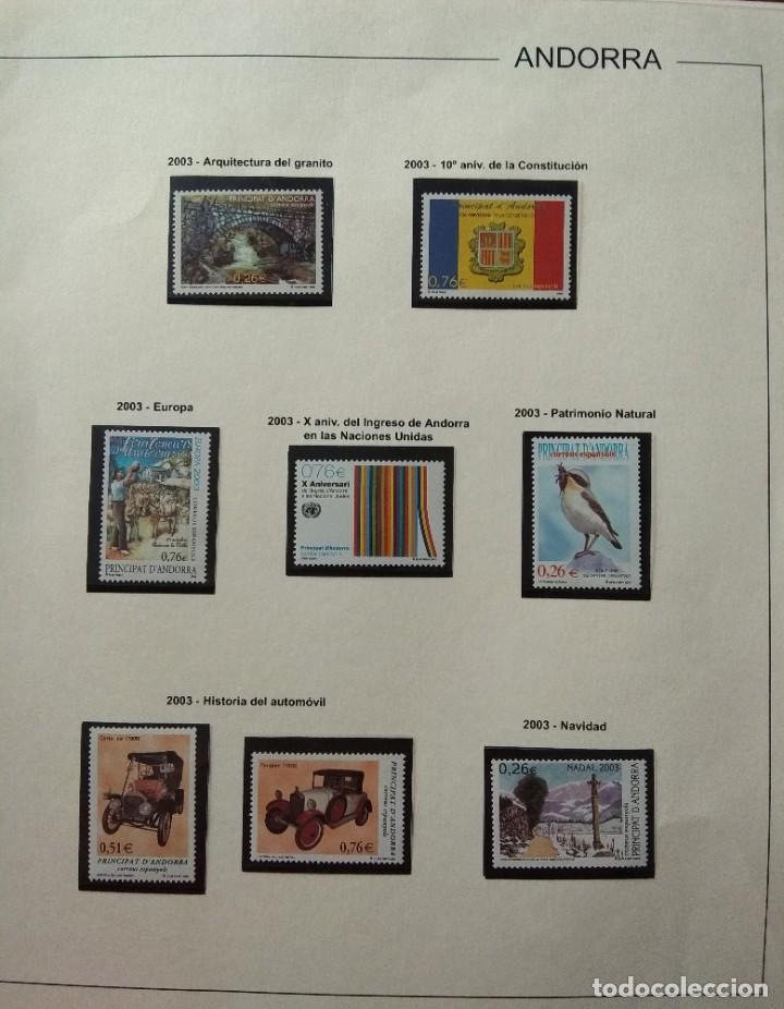 Sellos: Sellos de Andorra nuevos Años 1980 a 2004 y 2006. Todos los que se muestran en las fotos. Ver fotos - Foto 28 - 216998168