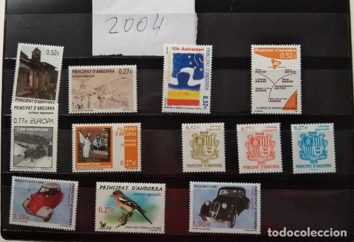Sellos: Sellos de Andorra nuevos Años 1980 a 2004 y 2006. Todos los que se muestran en las fotos. Ver fotos - Foto 29 - 216998168