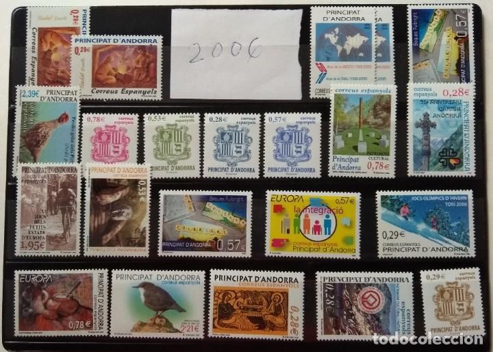 Sellos: Sellos de Andorra nuevos Años 1980 a 2004 y 2006. Todos los que se muestran en las fotos. Ver fotos - Foto 30 - 216998168