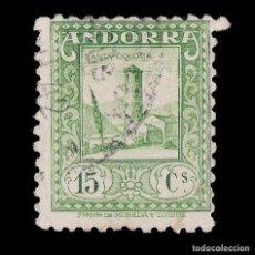 Sellos: ANDORRA CORREO ESPAÑOL.1935-43. 15C.USADO.EDIFIL 33. Lote 217906971
