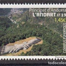 Sellos: 8.- ANDORRA ESPAÑOLA 2020 ANDORRA LAND ART. Lote 218593893