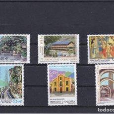 Francobolli: 2001 AÑO COMPLETO DE ANDORRA ESPAÑOLA - NUEVOS SIN CHARNELA VALOR FACIAL 2,07€. Lote 219225166