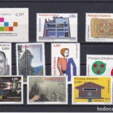 Sellos: 2011 AÑO COMPLETO DE ANDORRA ESPAÑOLA - NUEVOS SIN CHARNELA VALOR FACIAL 10,30€. Lote 253769615