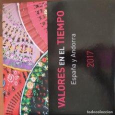 Sellos: VALORES EN EL TIEMPO ESPAÑA Y ANDORRA 2017. Lote 221085013