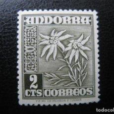 Selos: +ANDORRA, 1948*, EDIFIL 45. Lote 221138453