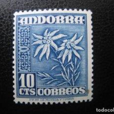 Selos: +ANDORRA, 1948*, EDIFIL 47. Lote 221139017