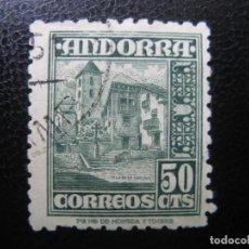 Selos: +ANDORRA, 1948*, EDIFIL 51. Lote 221139221