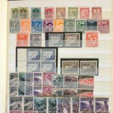 Sellos: ANDORRA ESPAÑOLA, 1928 - 1988 CLASIFICADOR CON SELLOS NUEVOS Y USADOS. Lote 221444135