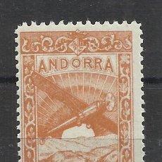 Sellos: PAISAJES ANDORRA 1932 EDIFIL NE 22 NUEVO** VALOR 2018 CATALOGO 2.50 EUROS. Lote 221874828