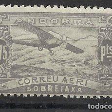 Sellos: PAISAJES ANDORRA 1932 EDIFIL NE 19 NUEVO** VALOR 2018 CATALOGO 0.95 EUROS. Lote 221874977