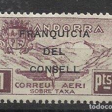 Sellos: PAISAJES FRANQUICIA DEL CONSELL ANDORRA 1932 EDIFIL NE 28 NUEVO** VALOR 2018 CATALOGO 0.65 EUROS. Lote 221876566