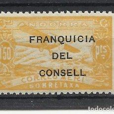 Sellos: PAISAJES FRANQUICIA DEL CONSELL ANDORRA 1932 EDIFIL NE 30 NUEVO** VALOR 2018 CATALOGO 1.15 EUROS. Lote 221877460