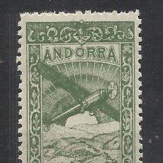 Sellos: PAISAJES ANDORRA 1932 EDIFIL NE 21 NUEVO** VALOR 2018 CATALOGO 1.85 EUROS. Lote 221879256