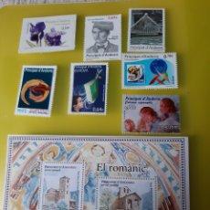 Sellos: ANDORRA ESPAÑA 2010 ALO COMPLETO NUEVO O USADA EDIFIL 372/379 PVP EDIFIL 24 EUROS. Lote 222522447