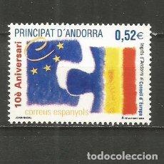 Sellos: ANDORRA EDIFIL NUM. 322 ** SERIE COMPLETA SIN FIJASELLOS. Lote 222598507