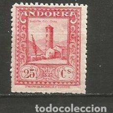 Sellos: ANDORRA EDIFIL NUM. 20 * NUEVO CON FIJASELLOS. Lote 222662098